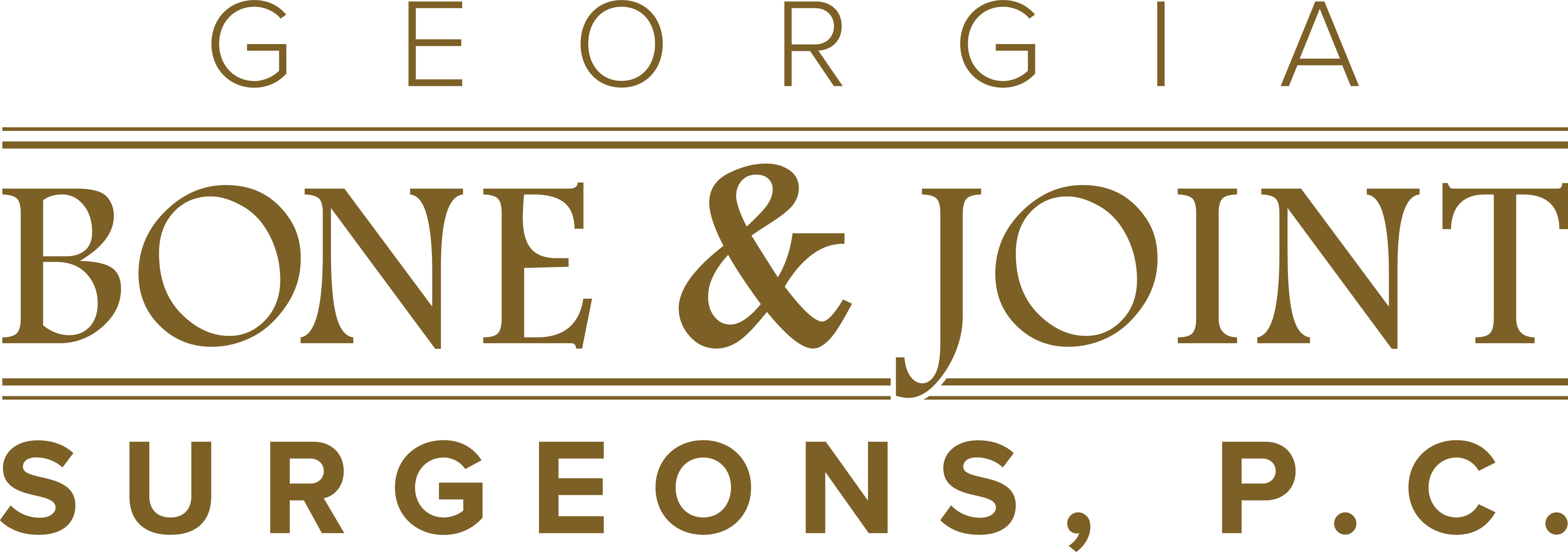 Georgia Bone and Joint Surgeons, PC.